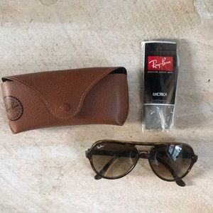 Ray ban cats 5000 brown tortoise sunglasses